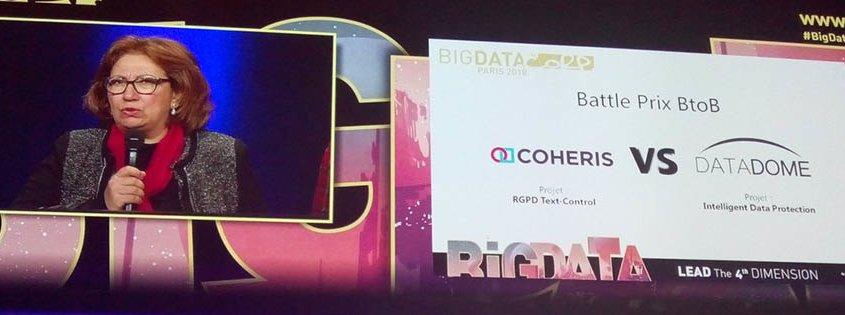 Coheris second des Trophées de l'Innovation Big Data Paris 2018