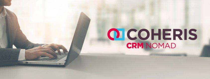 De nouvelles fonctionnalités pour Coheris CRM Nomad 2.8